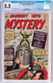 Journey Into Mystery #85 (Marvel, 1962) CGC FN- 5.5 Cream to off-white pages