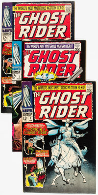 The Ghost Rider Group of 7 (Marvel, 1967) Condition: Average VF.... (Total: 7 Comic Books)
