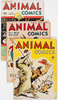 Animal Comics Group of 30 (Dell, 1941-48) Condition: Average GD-.... (Total: 30 )