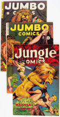 Golden Age (1938-1955):Miscellaneous, Comic Books - Assorted Golden Age Comics Group of 4 (Various Publishers, 1950s).... (Total: 4 Comic Books)