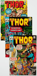 Bronze Age (1970-1979):Superhero, Thor Group of 14 (Marvel, 1970-71) Condition: Average VF+.... (Total: 14 Comic Books)