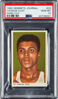 Boxing Cards:General, 1960 Hemmets Journal Cassius Clay (Muhammad Ali) Rookie #23 PSA GemMint 10 - The Finest Example Known to the Hobby!. ...