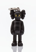 Fine Art - Sculpture, American:Contemporary (1950 to present), KAWS (b. 1974). Companion (Black), keychain, 2009. Paintedcast vinyl. 2 x 1-1/2 x 1 inches (5.1 x 3.8 x 2.5 cm). Stampe...
