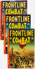 Golden Age (1938-1955):War, Frontline Combat #13-15 Group (EC, 1953-54) Condition: VG+....(Total: 3 )