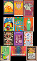 """Movie Posters:Rock and Roll, Rock Concert Postcard Lot (Bill Graham/Family Dog, Late 1960s-Early 1970s). Promotional Postcards (12) (4.5"""" X 7"""" - 5"""" X 8"""")... (Total: 12 Items)"""