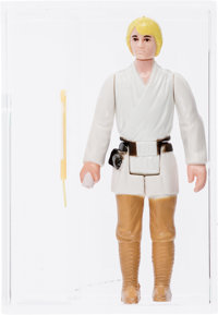 Star Wars - Luke Skywalker Engineering Pilot Loose Action Figure (Kenner, 1977) AFA 85+ NM+
