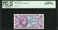 Military Payment Certificates:Series 641, Series 641 5¢ PCGS Gem New 66PPQ.. ...
