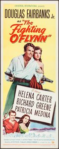 "Movie Posters:Action, The Fighting O'Flynn (Universal International, 1949). Insert (14"" X 36""). Action.. ..."