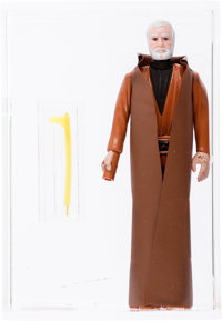 Star Wars - Ben (Obi-Wan) Kenobi First Shot Prototype Action Figure with Yellow Saber (Kenner, 1977) AFA 70 EX+