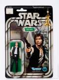 Memorabilia:Science Fiction, Star Wars - Han Solo 12 Back-B Small Head Action Figure (Kenner, 1978) AFA 90 NM+/MT....