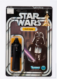 Star Wars - Darth Vader 12 Back-B Action Figure (Kenner, 1978) AFA 90 NM+/MT