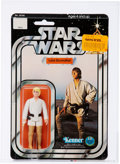 Memorabilia:Science Fiction, Star Wars - Luke Skywalker w/Telescoping Lightsaber 12 Back-C Action Figure (Kenner, 1978) AFA 85 NM+. ...
