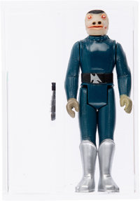 Star Wars - Snaggletooth (Blue) Loose Action Figure (Kenner, 1978) AFA U90 NM+/MT