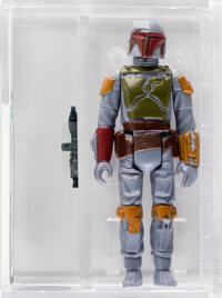 Star Wars - Boba Fett Loose Action Figure/ HK Engineering Pilot (Kenner, 1979) AFA 85 NM+