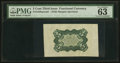 Fractional Currency:Third Issue, Fr. 1238SP 5¢ Third Issue Wide Margin Back PMG Choice Uncirculated 63 EPQ.. ...