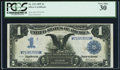 Large Size:Silver Certificates, Fr. 232 $1 1899 Silver Certificate PCGS Very Fine 30.. ...