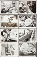 "Movie Posters:Animation, Mr. Bug Goes to Town (Paramount, 1941). Photos (16) (8"" X 10""). Animation.. ... (Total: 16 Items)"