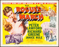 """Movie Posters:War, Rogue's March (MGM, 1953). Half Sheets (2) (22"""" X 28"""") Styles A& B. War.. ... (Total: 2 Items)"""