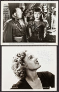 """Movie Posters:Miscellaneous, Margo & Other Lot (RKO, 1943) Very Fine-. Autographed Photos (2) (Approximately 8"""" X 10""""). Miscellaneous.. ... (Tot..."""