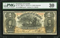 Canadian Currency, DC-13c $1 1898. ...