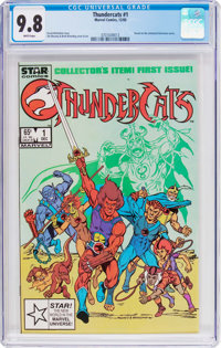 Thundercats (Marvel) #1 (Marvel, 1985) CGC NM/MT 9.8 White pages