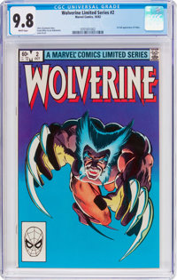 Wolverine #2 (Marvel, 1982) CGC NM/MT 9.8 White pages