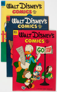 Walt Disney's Comics and Stories Group of 7 (Dell, 1953-58) Condition: Average FN.... (Total: 7 )