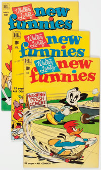New Funnies File Copies Group of 27 (Dell, 1951-61) Condition: Average VF/NM.... (Total: 27 )