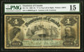 Canadian Currency, DC-17a $4 2.1.1902 PMG Choice Fine 15.. ...