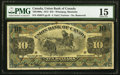 Canadian Currency, Winnipeg, MB- Union Bank of Canada $10 July 1, 1912 Ch. # 730-16-08a.. ...