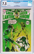 Bronze Age (1970-1979):Superhero, Green Lantern #76 (DC, 1970) CGC VF- 7.5 Off-white to white pages....