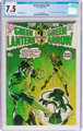 Green Lantern #76 (DC, 1970) CGC VF- 7.5 Off-white to white pages