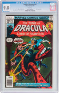 Bronze Age (1970-1979):Horror, Tomb of Dracula #62 (Marvel, 1978) CGC NM/MT 9.8 White pages....