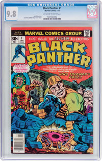 Black Panther #1 (Marvel, 1977) CGC NM/MT 9.8 Off-white to white pages