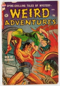 Weird Adventures #2 (P.L. Publishing Co., 1951) Condition: GD-