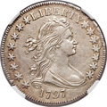 Early Half Dollars, 1797 50C O-102, T-2, High R.5 -- Improperly Cleaned -- NGC Details.AU. Amato Unlisted....