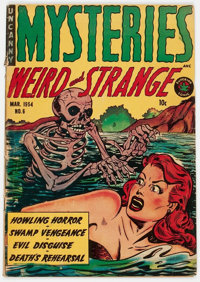 Mysteries Weird and Strange #6 (Superior Comics, 1954) Condition: VG+