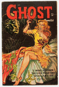 Ghost #2 (Fiction House, 1952) Condition: VG+