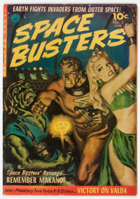 Space Busters #2 (Ziff-Davis, 1952) Condition: VG+