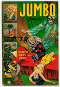 Golden Age (1938-1955):Adventure, Jumbo Comics #164 (Fiction House, 1952) Condition: GD/VG....