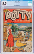 Golden Age (1938-1955):Romance, Dotty #38 (Ace, 1949) CGC FN- 5.5 Off-white to white pages....