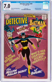 Detective Comics #359 (DC, 1967) CGC FN/VF 7.0 Off-white pages