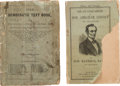 Political:Small Paper (pre-1896), Abraham Lincoln and George McClellan: Books in Pictorial and titledWraps.... (Total: 2 Items)