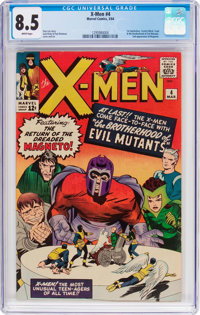 X-Men #4 (Marvel, 1964) CGC VF+ 8.5 White pages