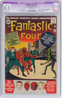 Fantastic Four #11 (Marvel, 1963) CGC Apparent VF+ 8.5 Slight (A-1) Off-white pages