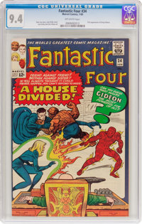 Fantastic Four #34 (Marvel, 1965) CGC NM 9.4 Off-white pages