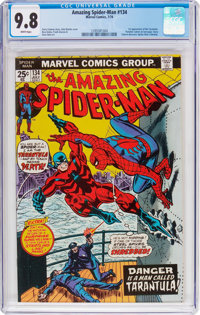 The Amazing Spider-Man #134 (Marvel, 1974) CGC NM/MT 9.8 White pages