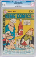 Golden Age (1938-1955):Humor, King Comics #151 Mile High pedigree (David McKay Publications, 1949) CGC NM+ 9.6 White pages.. ...