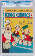 Golden Age (1938-1955):Humor, King Comics #139 Mile High pedigree (David McKay Publications, 1947) CGC VF/NM 9.0 White pages....