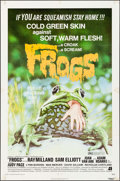"Movie Posters:Horror, Frogs (American International, 1972). One Sheet (27"" X 41""). Horror.. ..."